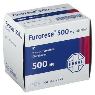 Furorese® 500 mg Tabletten
