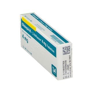 GLIMEPIRID 1A Pharma 4 mg Tabletten