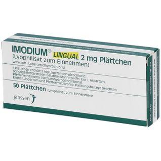 Imodium lingual Tabletten