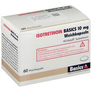 ISOTRETINOIN BASICS 10 mg Weichkapseln
