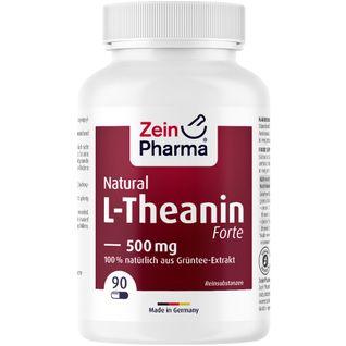 L Theanin Kapseln Natural Forte 500 mg ZeinPharma