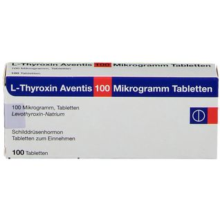 L-Thyroxin Aventis 100 µg