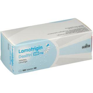 LAMOTRIGIN Desitin 200 mg Tabletten