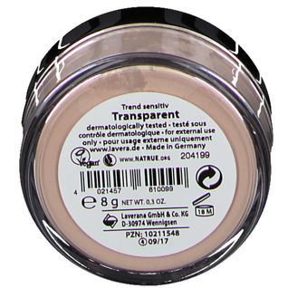 lavera Fine Loose Mineral Powder transparent