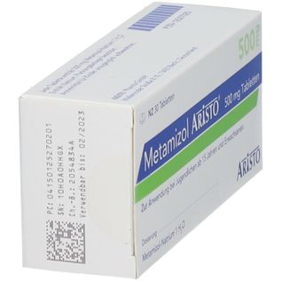 METAMIZOL Aristo 500 mg Tabletten