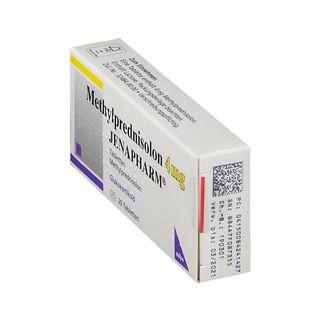 Methylprednisolon 4 mg Jenapharm Tabl.