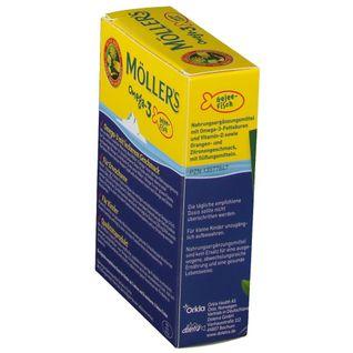 MÖLLERS Omega-3 Gelee Fische natürlicher Fruchtgeschmack