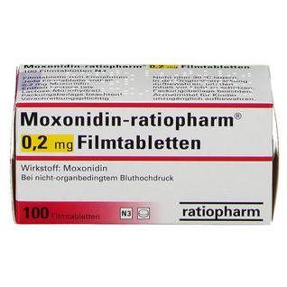 Moxonidin ratiopharm® 0,2 mg Filmtabletten