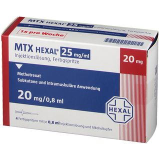 MTX HEXAL 25MG/ML 20MG FS