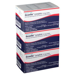 Ocuvite® Complete 12 mg Lutein