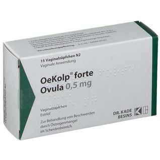 OEKOLP FORTE OVULA 0.5MG 15 St - shop-apotheke.com