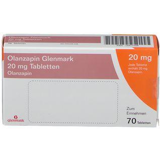 OLANZAPIN GLENMARK 20MG