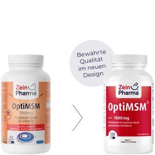 Opti MSM Kapseln 1000 mg ZeinPharma