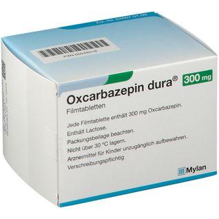 OXCARBAZEPIN dura 300 mg Filmtabletten