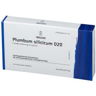 Plumbum Silicicum D20 Ampullen