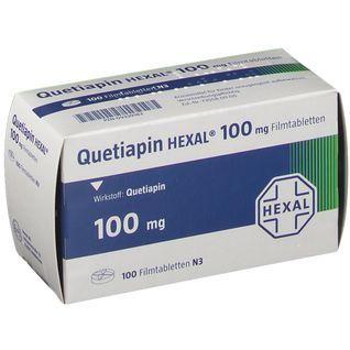 QUETIAPIN HEXAL 100MG FILM