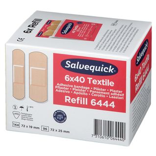 Salvequick® Pflasterstrips elastisch Nachfülleinsätze