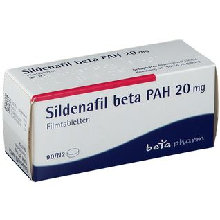SILDENAFIL beta 20 mg Filmtabletten