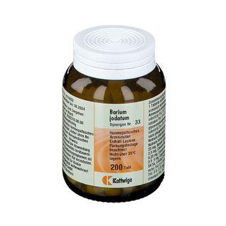 Synergon 33 Barium jodatum Tabl.