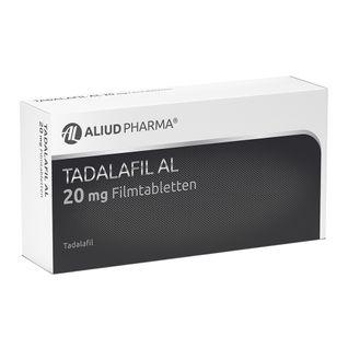 TADALAFIL AL 20 mg Filmtabletten