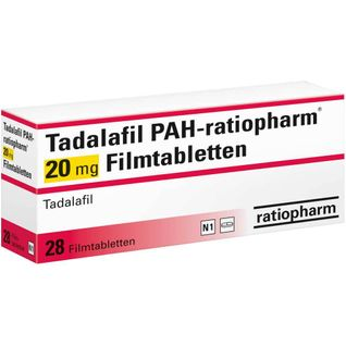 TADALAFIL PAH-ratiopharm® 20 mg Filmtabletten