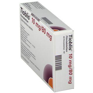 TIOBLIS 10 mg/80 mg Filmtabletten