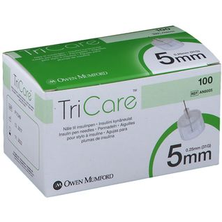TriCare Pen-Nadeln 5 mm 0.25 mm 31G