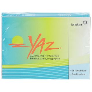 Yaz® 0,02 mg/3 mg Filmtabletten