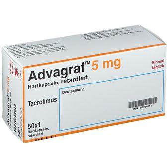 Advagraf® 5 mg