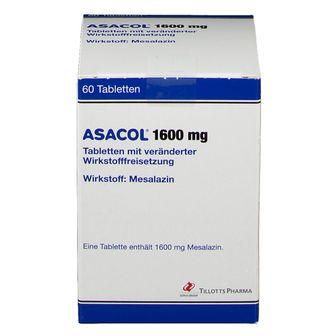 ASACOL 1600 mg Tabletten m.veränd.Wirkst.-Frs.