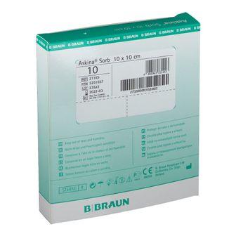 Askina® Sorb Wundauflage 10 x 10 cm steril