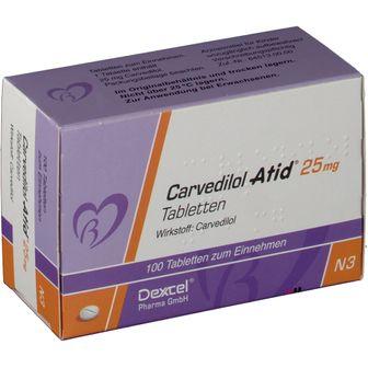Carvedilol Atid® 25 mg
