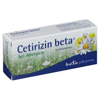 Ceterizin Beta Filmtabletten