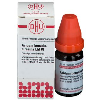 DHU Acidum Benzoicum e Resina LM VI