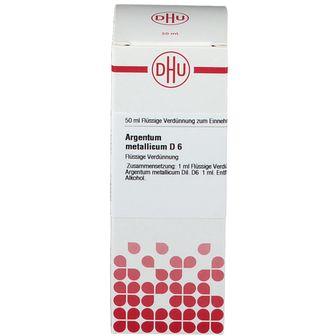 DHU Argentum Metallicum D6