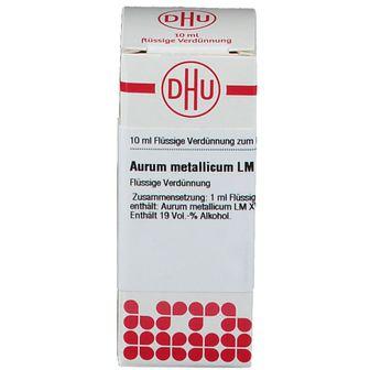 DHU Aurum Metallicum LM XVIII