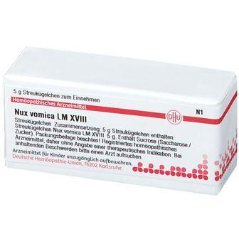 DHU Nux Vomica LM XVIII