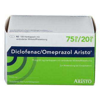 Diclofenac/Omeprazol Aristo® 75 mg/20 mg