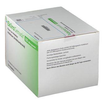 EKLIRA GENUAIR 322 µg Pulver zur Inhalation 3x60ED