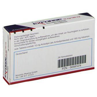 Exforge® 10  mg /160 mg