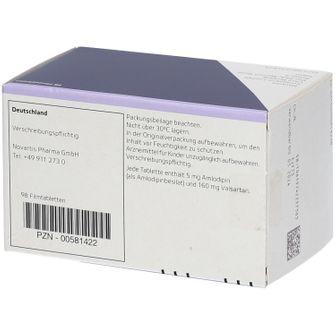 Exforge® 5  mg /160 mg