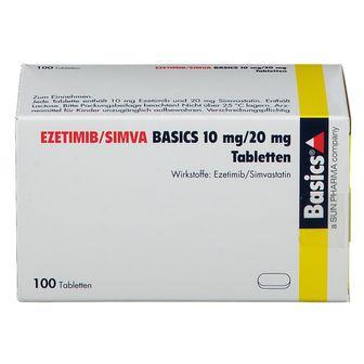 EZETIMIB/SIMVA BASICS 10 mg/20 mg