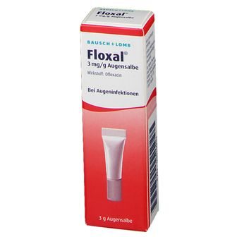 Floxal Augensalbe Baby