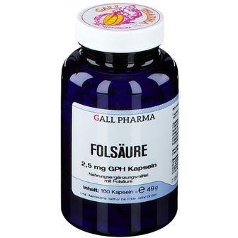Folsäure 2,5 mg GPH Kapseln