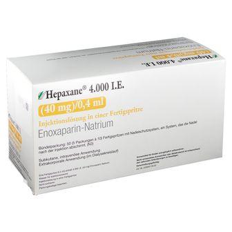 HEPAXANE 4.000 I.E. 40 mg/0,4 ml Inj.-Lsg.i.e.FS