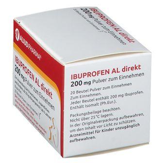Ibuprofen AL direkt 200 mg