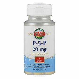 KAL ® P-5-P 20 mg Pyridoxal-5-Phosphat Tabletten 20 mg