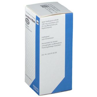 LEVOBENS Teva 100 mg/25 mg Hartkapseln