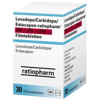 Levodopa/Carbidopa/Entacapon-ratiopharm® 100 mg/25 mg/200 mg