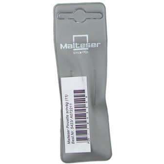 Malteser® Pinzette schräg Nickel 8 cm